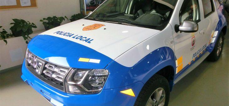 Patrullero Policía Local del Ayuntamiento de Tijarafe